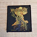 Megadeth - the world's state of the art speed metal band - patch