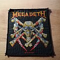 Megadeth - Patch - Megadeth - Killing Is My Business - patch