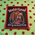 Motörhead - Patch - Motörhead - Orgasmatron - red border patch
