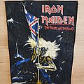 Iron Maiden - The Beast On The Road - backpatch