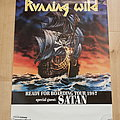 Running Wild - Other Collectable - Running wild - Ready For Boarding Tour 1987 - tour poster