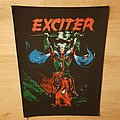 Exciter - Long Live The Loud - vintage backpatch