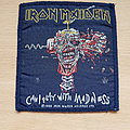 Iron Maiden - Patch - Iron Maiden - Can I Play With Madness - blue border patch