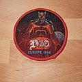 Dio - Europe 1984 - vintage orange border patch