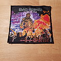 Iron Maiden - Patch - Iron Maiden - The Wickerman - vintage patch