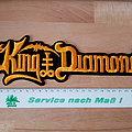 King Diamond - Logo - superstrip patch