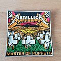 Metallica - Patch - Metallica - Master Of Puppets - rubber patch