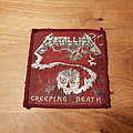 Metallica - Creeping Death - red border patch