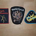 Black Sabbath + Judas Priest + Motörhead - patches for nelson