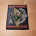 Iron Maiden - Patch - Iron Maiden - No Prayer For The Dying - vintage patch