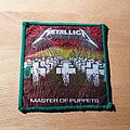 Metallica - Patch - Metallica - Master Of Puppets - green border patch