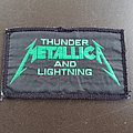 Metallica - Thunder And Lightning - patch