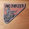 Jag Panzer - Patch - Jag Panzer - Ample Destruction - grey border shape patch