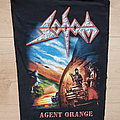 Sodom - Agent Orange - backpatch