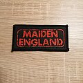 Iron Maiden - Patch - Iron Maiden - Maiden England - patch
