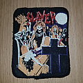 Slayer - Live Undead - vintage printed patch