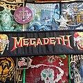 Megadeth - Patch - Megadeth - logo - superstrip patch