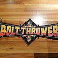 Bolt Thrower - Patch - Bolt Thrower - logo - back shape patch