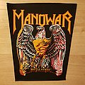Manowar - Battle Hymns - vintage backpatch