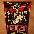 Manowar - Band / Sign Of The Hammer Era - vintage backpatch