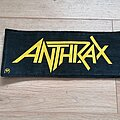 Anthrax - Patch - Anthrax - Logo - patch