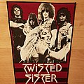 Twisted Sister - Band - vintage backpatch