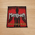 Manowar - Patch - Manowar - Into Glory Ride - patch