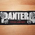 Pantera - Unscarred - superstrip patch
