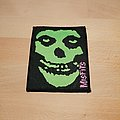 Misfits - Patch - Misfits - green skull - patch