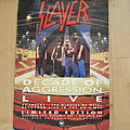 Slayer - Other Collectable - Slayer - Decade Of Aggression - promo poster