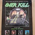 Overkill - Other Collectable - Overkill - Under The Influence - promo poster