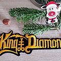 King Diamond - Patch - King Diamond - logo superstrip - patch