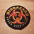 Biohazard - Urban Discipline - patch