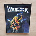 Warlock - Patch - Warlock - Triumph And Agony - backpatch