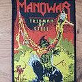 Manowar - Patch - Manowar - The Triumph Of Steel - patch