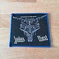 Judas Priest - Patch - Judas Priest - Defenders Of The Faith - blue border patch