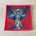 Exciter - Long Live The Loud - vintage red border patch