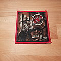 Slayer - Reign In Blood - red border patch