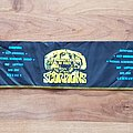 Monsters Of Rock - Scorpions Ozzy Osbourne MSG Def Leppard Bon Jovi - scarf