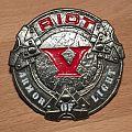 Riot V - Armor Of Light - Pin Pin / Badge