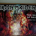 Iron Maiden Book Of Souls Tour 2017 poster