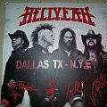 Hellyeah New Year's Eve 2014-15 Dallas poster