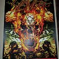 Slayer final tour official poster for Dallas, Tx