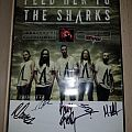 Feed Her To The Sharks signed poster