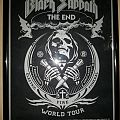 Black Sabbath The End tour poster