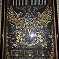 Dimmu Borgir signed 25th anniversary poster, limited to 100