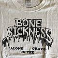 Bone Sickness - TShirt or Longsleeve - Bone Sickness - Alone In The Grave L