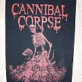Cannibal Corpse Backpatch Skeletal Domain