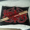 Marduk - Other Collectable - MARDUK - signature drumsticks, red pair.
