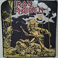 Iron Maiden back jacket patch